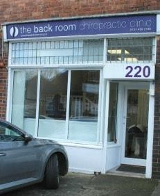 the back room chiropractic clinic moseley birmingham picture