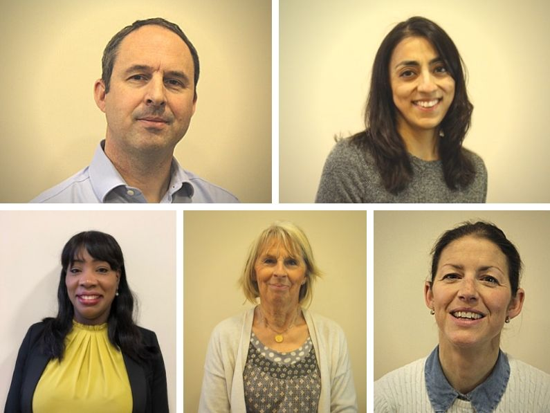 the back room chiropractic clinic team picture